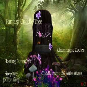 Fantasy Cuddle Tree