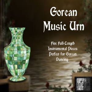 {r} Gorean Music Urn Green