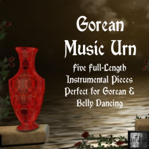 {r} Gorean Music Urn Red