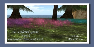 -SE- 3 Pack Gorean Colored Grass