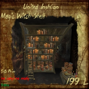 UI Magic Witch Shelf