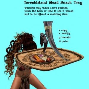 Torvaldsland Mead Snack Tray (nadu)