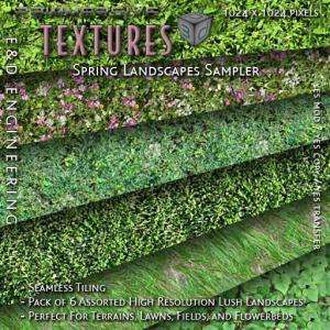 E&D ENGINEERING_ Spring Bliss Hunt - Landscapes Sampler