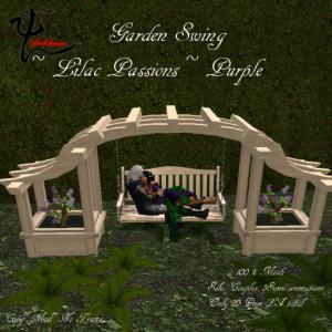 Garden Swing,lilac,Purple