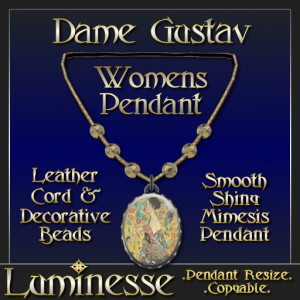_LUM-Dame Gustav Pendant WOMENS