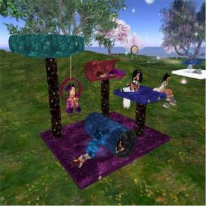 Neko Playground (mesh)2 PIC