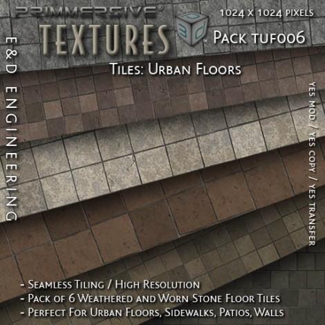 E&D ENGINEERING_ Textures - Tiles Urban Floors TUF006_