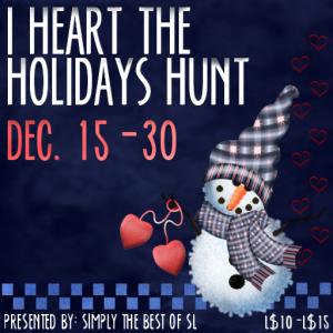 I Heart the Holidays Hunt