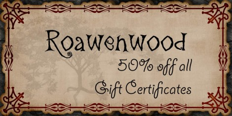 {RW} Gift Certificate 50% Sale